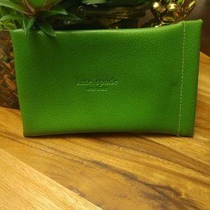 Kate spade Green pouch